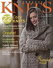 Interweave Knits, edición Fall 2009