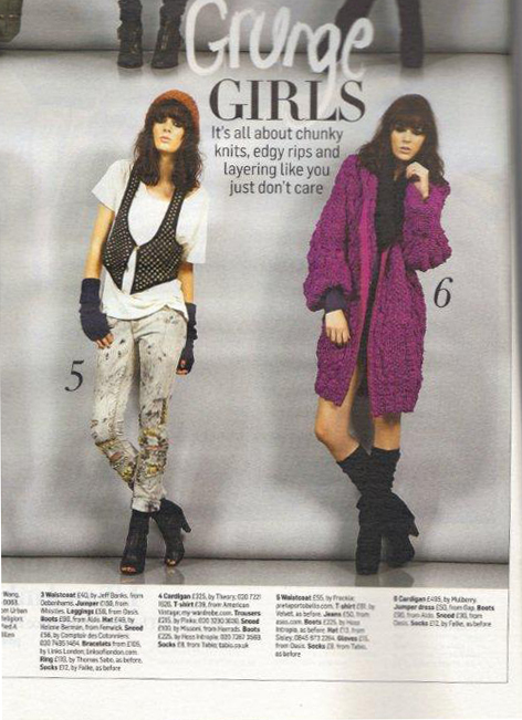 Saco Mulberry en The Sunday Times