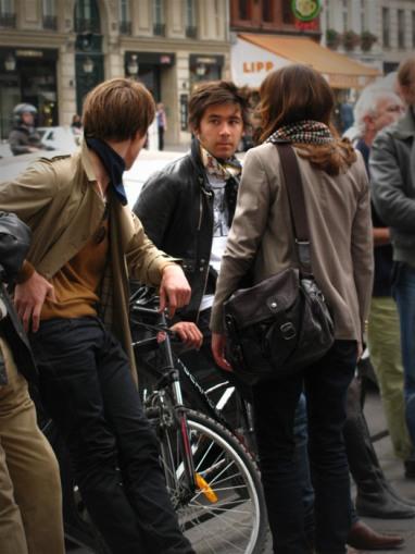 Por la calle Saint-Germain