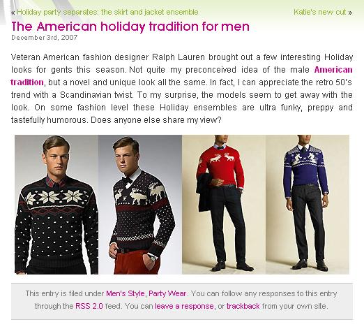 prendas hechas por Manos para Polo en http://youlookfab.com/