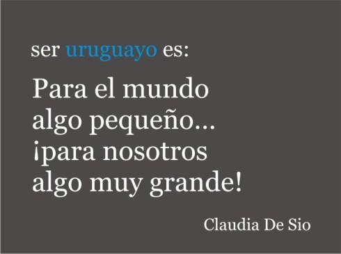 ¿Que es ser Uruguayo?