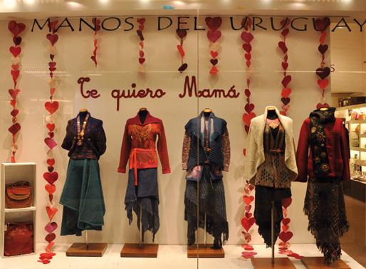 manos del uruguay vidriera dia de la madre montevideo shopping