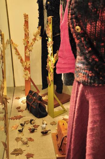 Manos del Uruguay - invierno 2012 Vidriera Punta Carretas Shopping