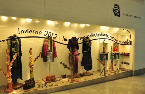 manos del uruguay invierno 2012 Vidriera Punta Carretas Shopping 6