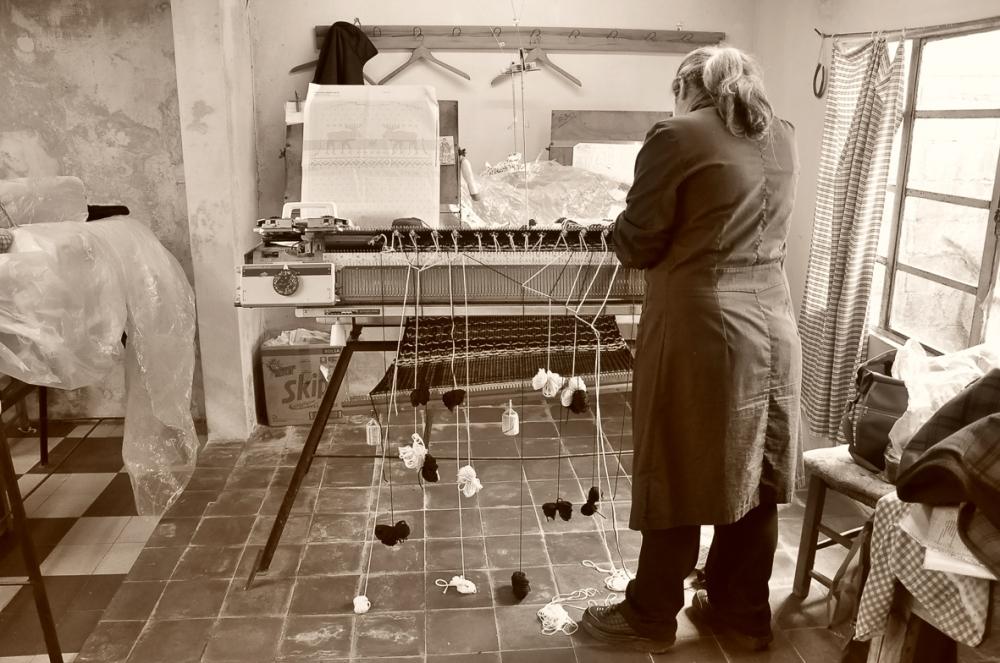 Artesanas de Manos del Uruguay de la Cooperativa Caflodur de Sarandí Grande