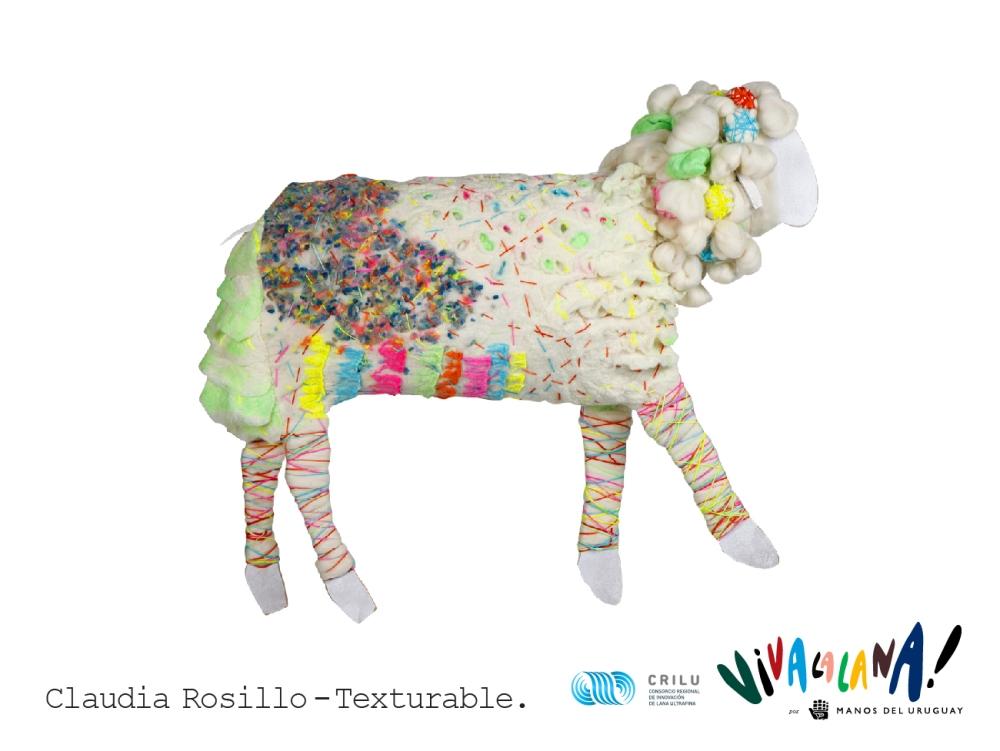 Viva la Lana - Manos del Uruguay - Claudia Rosillo - Texturable
