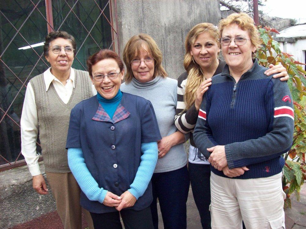 Artesanas de la Cooperativa de Paysandú