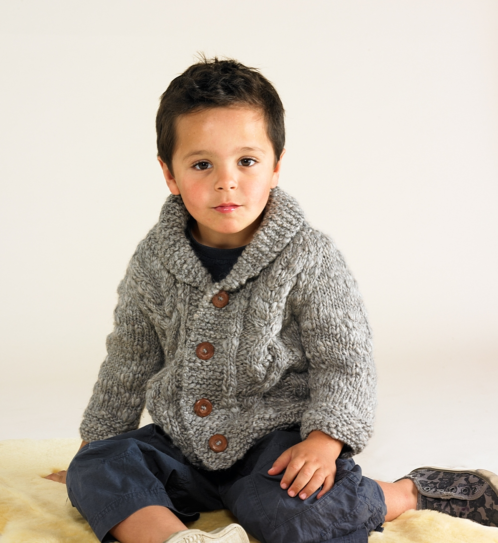 Chunky Hand knitted Cardigan