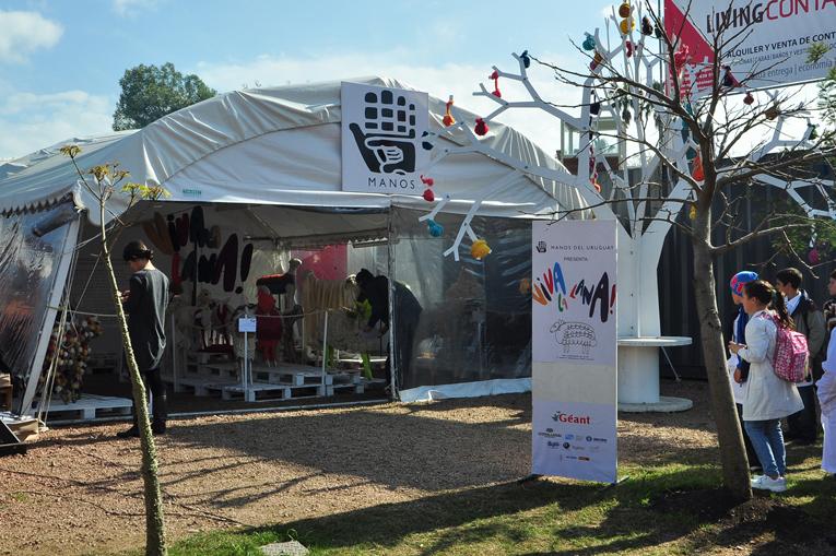 Manos del Uruguay - VIVA LA LANA - Expo Prado 2012