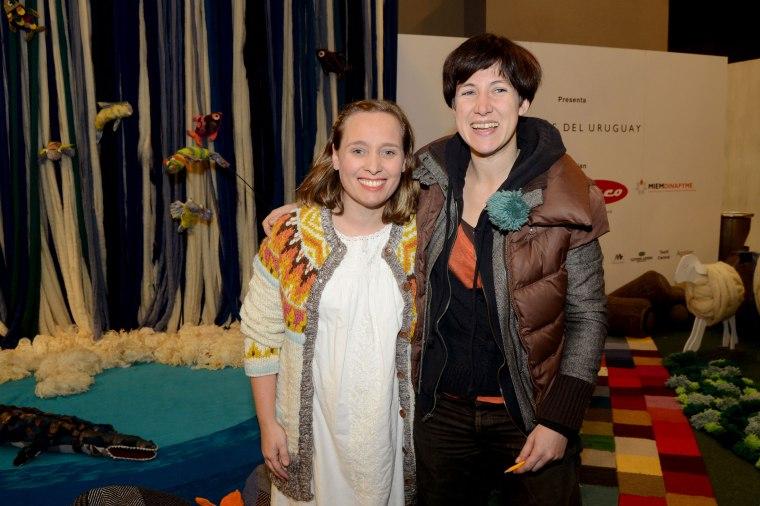 Cecilia Lalanne y Mariana Duarte