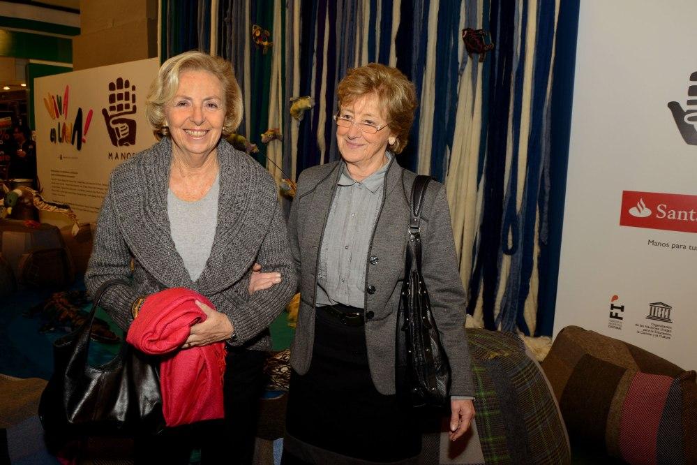 Magdalena Pérez del Castillo y Olga Santayana Fundadora de Manos del Uruguay