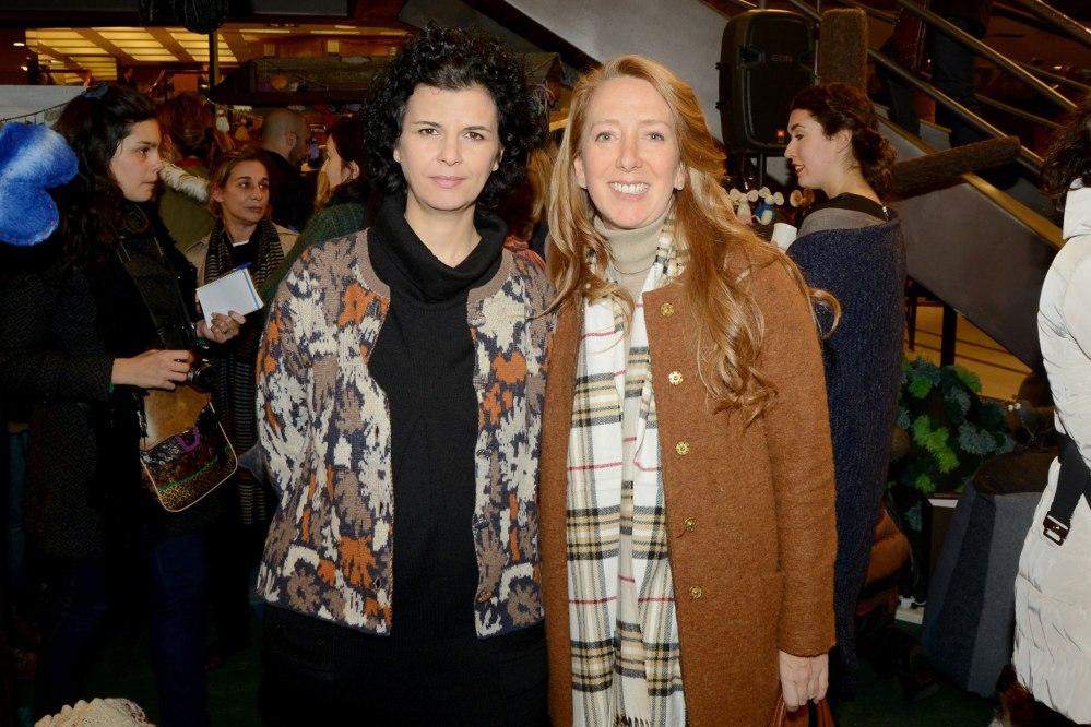 Ana de Prado y Cecilia Maroño