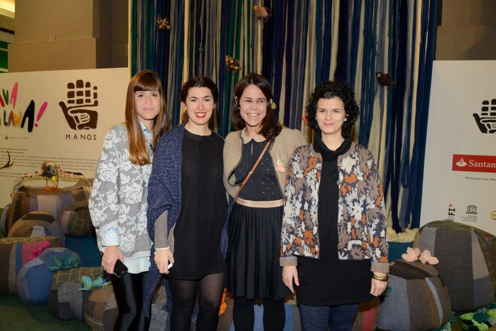 Soledad Naya, Lucía Benitez, María Gracia Pérez y Ana de Prado