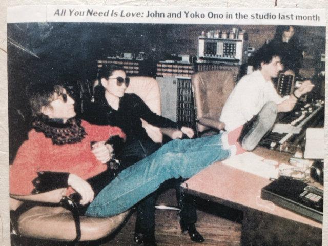 Si! John lennon & Yoko Ono