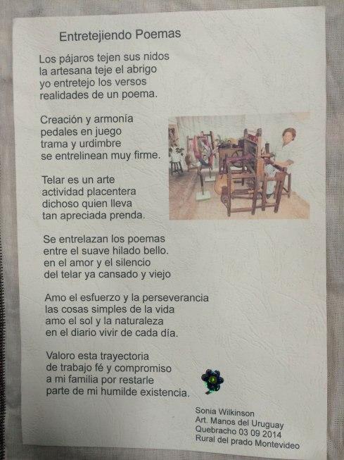 poema de Sonia Wilkinson